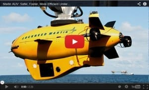 Lockheed Martin Marlin AUV with Echoscope